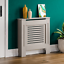 thumbnail 106 - Radiator Cover White Unfinished Modern Traditional Wood Grill Cabinet Furniture
