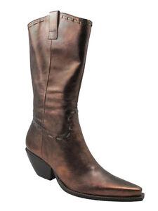 BCBG-Women-039-s-Tubina-Mid-Calf-Boots-Bronze