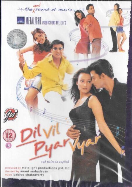 DIL VIL PYAR VYAR - Sanjay Suri, Jimmy Shergill - NEW BOLLYWOOD DVD