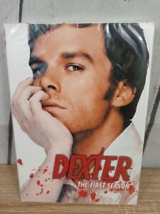 New DEXTER THE FIRST SEASON 4-Disc DVD Set New Free Shipping included