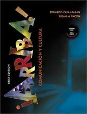 ¡Arriba! comunicación y cultura CD Not Included Brief Edition-HC-Free Shipping