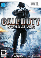 Nintendo Wii Call of Duty: World at War (Wii) VideoGames