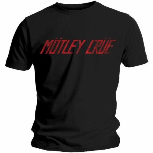 Motley Crue Men/'s Tee Distressed Logo