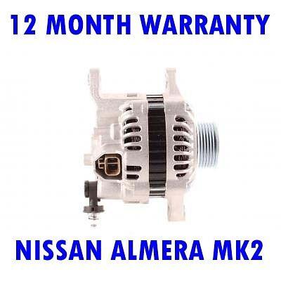 NISSAN ALMERA MK2 MK II 1.5 1.8 2000 2001 2002-2015 RMFD ALTERNATOR
