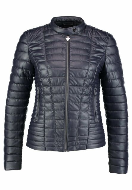 GUESS PIUMINO GIUBBOTTO Donna Vona Blu Jacket EUR 149,90