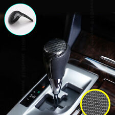 Gear Shift Knob Case Cover Trim Carbon Fiber Blue For Toyota Corolla 2014-2017