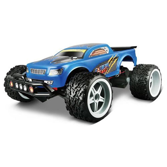 Maisto Tech Off Road Series bluee Extreme Beast Remote Control Car