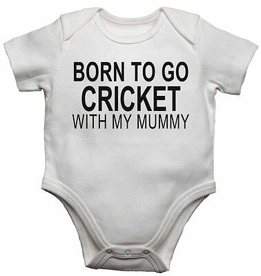 New Baby Vests Bodysuits for Boys Girls Born to Go Wrestling with My Mummy