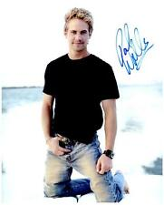 Paul Walker signed 8x10 Picture Photo Pic autographed autograph with COA