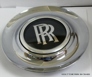 Used Rolls Royce Ghost Wraith Dawn Complete Wheel Center Cap 36136773460