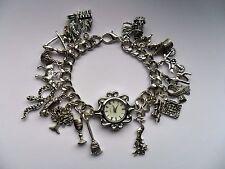 Reloj de cuarzo nuevo impresionante Handmade Harry Potter Multi pulsera con dijes 20cm