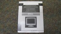 Displays By Dell - M781s Color Monitor Quick Setup Guide & Disk (2000) -