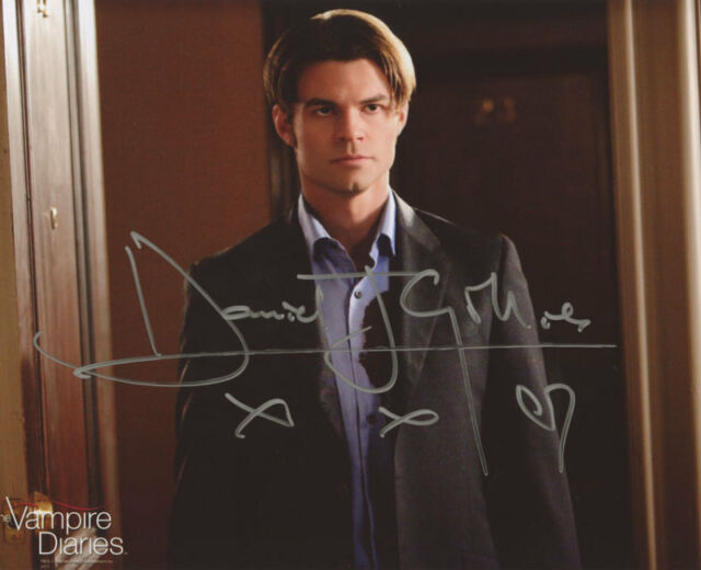 Daniel Gillies ++ Autogramm ++ Vampire Diaries ++ Spiderman ++ Navy CIS