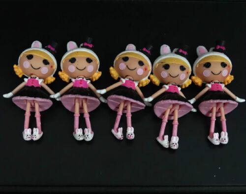 LOT OF 5 Mini Lalaloopsy Series Doll FIGURES  #HH6