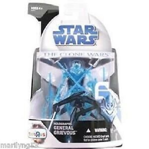 HOLOGRAPHIC GENERAL GRIEVOUS STAR WARS CLONE WARS