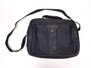 Image Is Loading Swissgear By Wenger Computer Laptop Messenger Bag Black