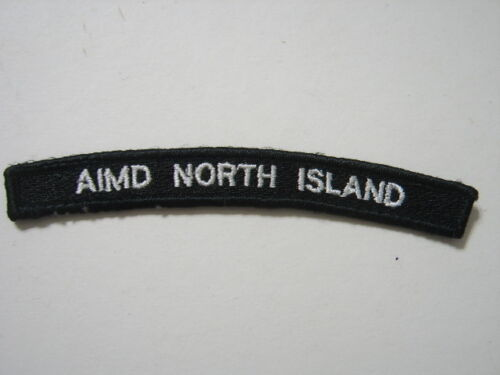 AIMD NORTH ISLAND NAVY UIM SHOULDER TAB