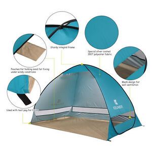 UV-Protection-Camping-Fishing-Garden-Large-Pop-Up-Sun-Shelter-Beach-Tent