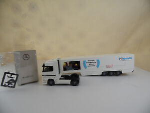 Sw1808-Wiking-mercedes-benz-remolcarse-actros-webasto-1-87-box-Mint-dealer-Edit