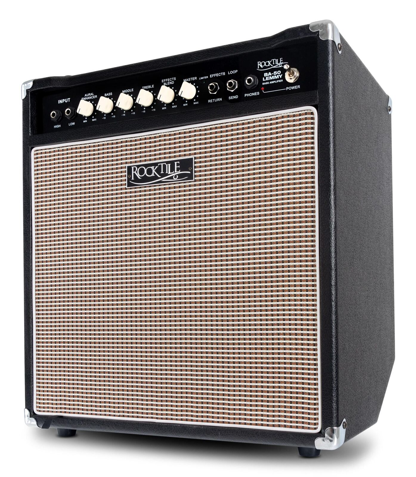 ti aspetto E-Bass AMPLIFICATORE 50 Watt Bass Combo Amp Amp Amp 12  Altoparlante Cuffie EQ  vendita online