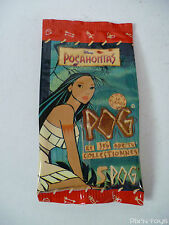 Sachet Booster Pog Série Pocahontas (5 Pogs + 1 Kini) / WPF Pog officiel [ NEW ]