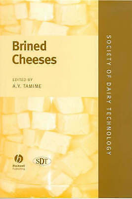 Brined Cheeses by John Wiley and Sons Ltd (Hardback, 2006) #2927