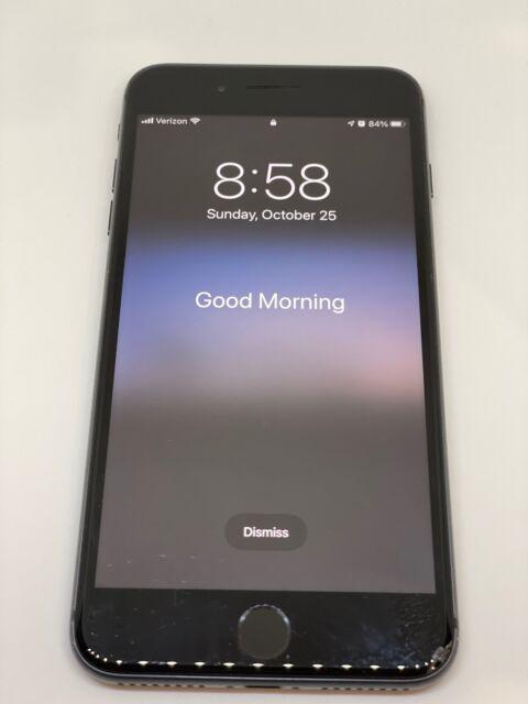 Apple iPhone 8 Plus - 256GB - Space Gray (Unlocked) A1864 (CDMA   GSM)