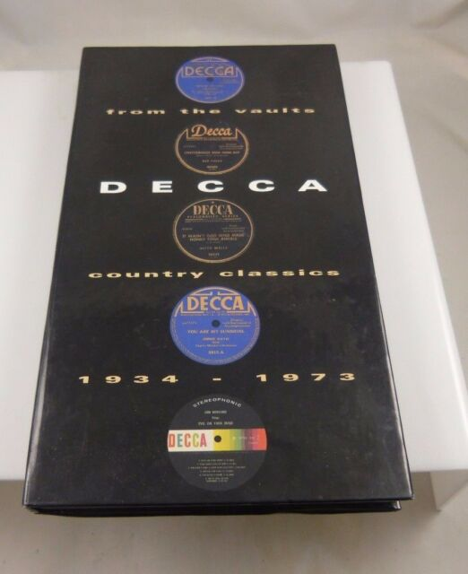 From the Vaults: Decca Country Classics [Box] by Various Artists (CD, Sep-1994,