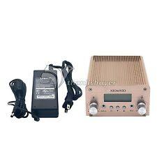 5W 15W PLL FM Transmitter Mini Radio Stereo Station Bluetooth Wireless Broadcast