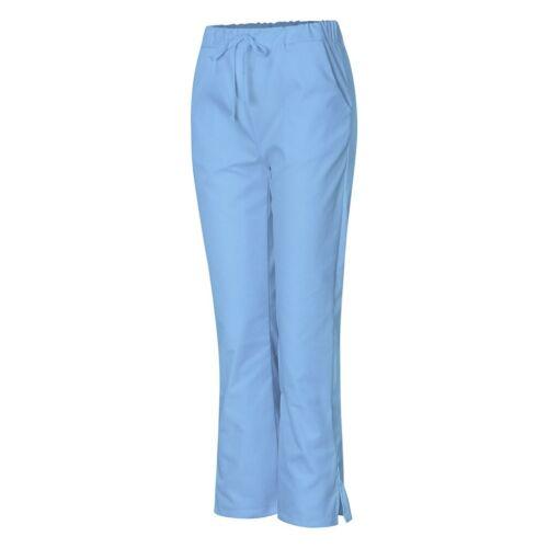 Womens Junior Fit Ultrasoft Cargo Elastic Scrub Pants Nursing Hospital Uniform