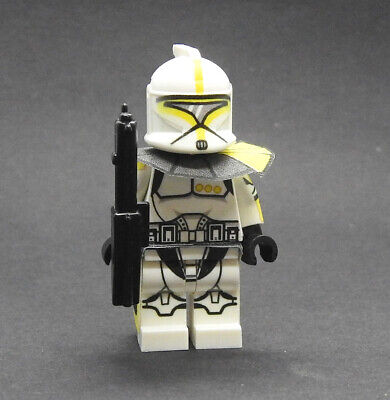 Custom Null ARC Blue Star Wars Clone Trooper minifigures on lego bricks