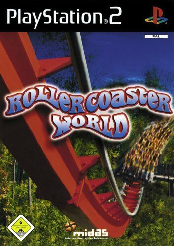 Rollercoaster World (Sony PlayStation 2, 2005, DVD-Box) neuwertig