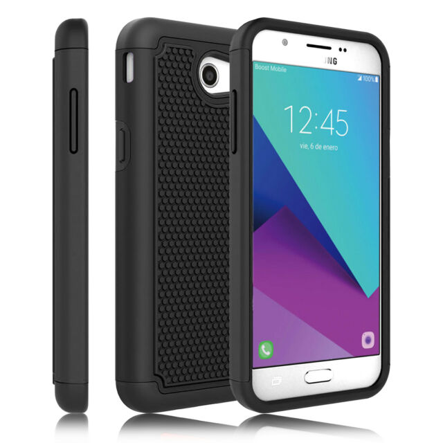 brand new dfede fdfe7 For Samsung Galaxy J3 Emerge/Prime/Luna Pro Case Shockproof Armor Phone  Cover
