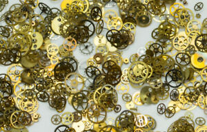 SWISS-MADE-COGS-GEARS-ONLY-STEAMPUNK-WATCH-PARTS-ART-PROJECT-CRAFTS-JEWELLERY