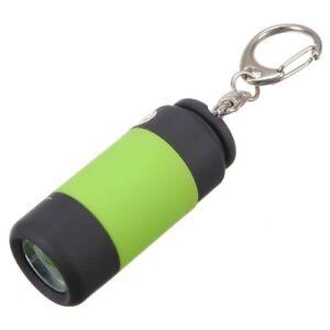 Mini-USB-recargable-linterna-LED-llavero-Lampara-de-mano-Linterna-2-pzs-D5O8