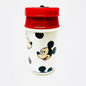 VINTAGE 1989 MICKEY MOUSE Lunch Kit Aladdin THERMOS ONLY & Pop-Top Instructions