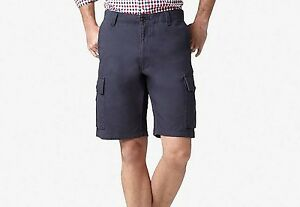 NEW-Dockers-Mens-Cargo-Shorts-Flat-Front-Classic-Fit-Size-32