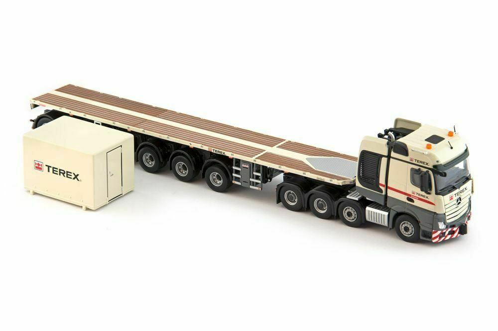 Terex,  Mercedes Actros,2, 8x4 KNT 6 Axle Ballast, 1 50, Scale, IMC 330054  garantie de crédit