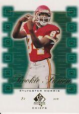 2000 SP Authentic Rookie Fusion #RF7 Sylvester Morris