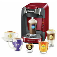 Bosch Tassimo Suny Coffee Machine Tas3203gb Red/anthracite