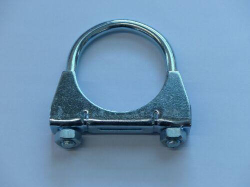 Auspuffschelle-Rohrschelle verzinkt  M8  Ø 65//5 St