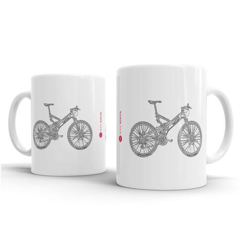 Bike Ninja MTB Retro Classics Mountain Cycle San-Andreas Mug