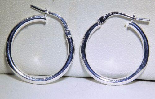 Señoras plata esterlina G5256 925 Pendientes De Aro Criollo