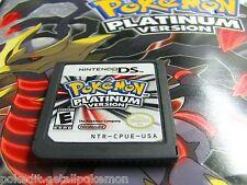 PokEdit Platinum Used DS 3DS All 493 Pokemon LVL 100 Shiny Edit Nintendo