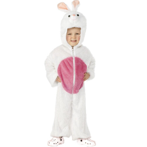 Girls Boys Easter Bunny Rabbit Animal Book Day Fancy Dress Up Costume Outfit