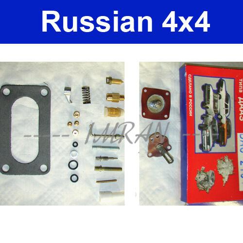 membrane 1300ccm Kit de réparation pour carburateur Carburateur Joint Lada 1200