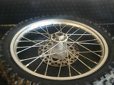 "2002 Kawasaki Kx85 Kx 85 80 Kx80 Hub Rim Spokes Wheel 17"" 70/100-17 Front Rim"