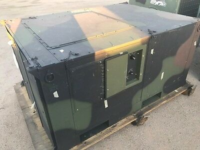 New Military AC unit with heat portable 5 Ton M939 spot cooler Hvac Tech