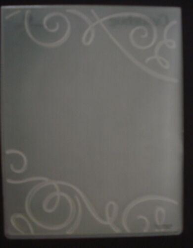 Cuttlebug SWIRLS TWIRLS ORNATE CORNER FRAME  Embossing Folder FALL ALL OCCASION