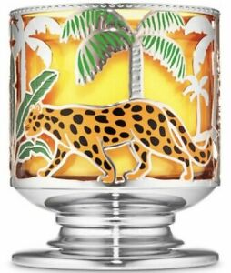 BATH-amp-BODY-WORKS-JUNGLE-CRITTERS-PEDESTAL-LARGE-3-WICK-CANDLE-HOLDER-SLEEVE